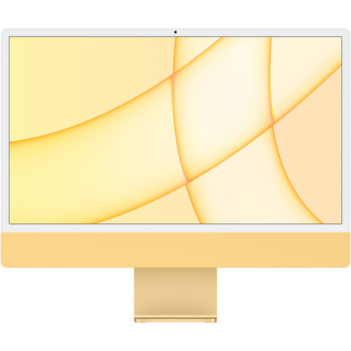 """Apple 24"""" iMac with M1 Chip (Mid 2021, Yellow)"""