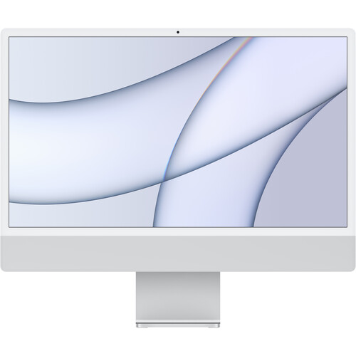 """Apple 24"""" iMac with M1 Chip (Mid 2021, Silver)"""