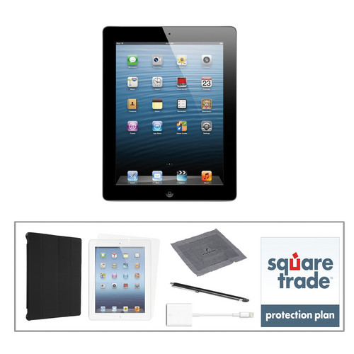Apple 16GB iPad Kit with Retina Display and Wi-Fi (4th Gen, Black)