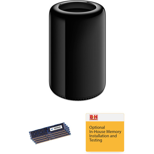 Apple Mac Pro Desktop Computer with 128GB of DDR3 RAM & Installation Kit (Six-Core, Late 2013)