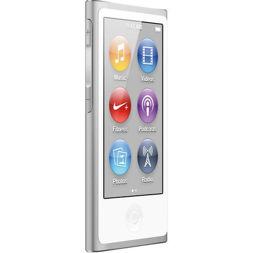 Apple 16GB iPod nano (Silver, 7th Generation)