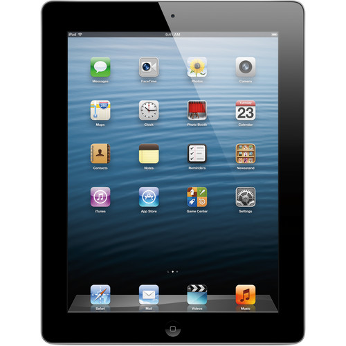 Apple 128GB iPad with Retina Display and Wi-Fi + 4G LTE (4th Gen, AT&T, Black)