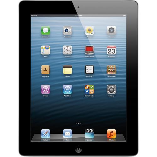 Apple 128GB iPad with Retina Display and Wi-Fi + 4G LTE (4th Gen, AT&T, Black)