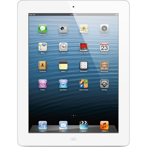 Apple 128GB iPad with Retina Display and Wi-Fi + 4G LTE (4th Gen, Sprint, White)