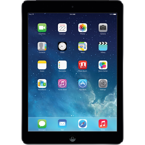 Apple 128GB iPad Air (Verizon, Space Gray)