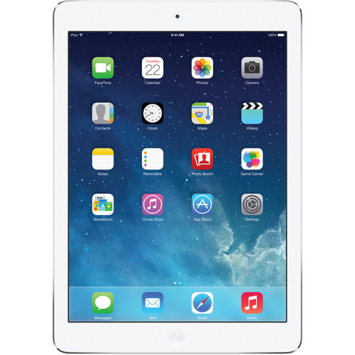 Apple 128GB iPad Air (AT&T, Silver)