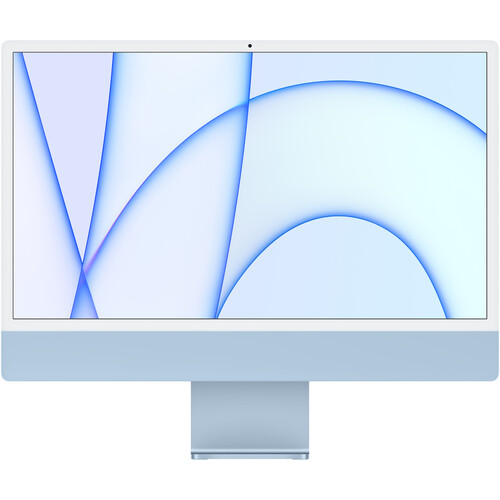 """Apple 24"""" iMac with M1 Chip (Mid 2021, Blue)"""