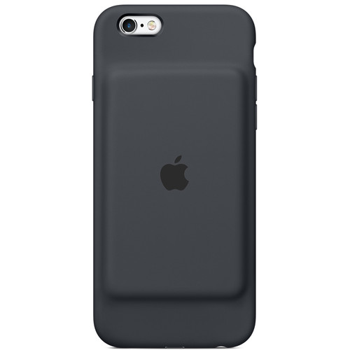 Apple iPhone 6/6s Smart Battery Case (Charcoal Gray)