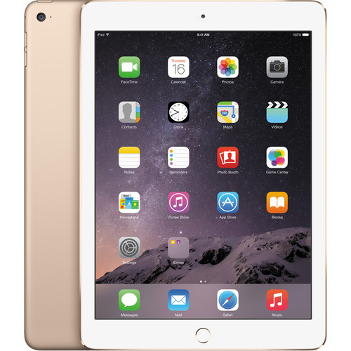 Apple 16GB iPad Air 2 (Wi-Fi Only, Gold)