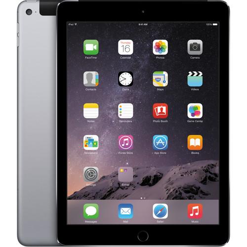 Apple 64GB iPad Air 2 (Wi-Fi + 4G LTE, Space Gray)