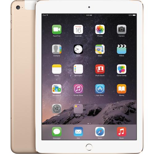 Apple 64GB iPad Air 2 (Wi-Fi + 4G LTE, Gold)
