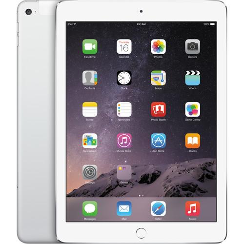 Apple 128GB iPad Air 2 (Wi-Fi + 4G LTE, Silver)