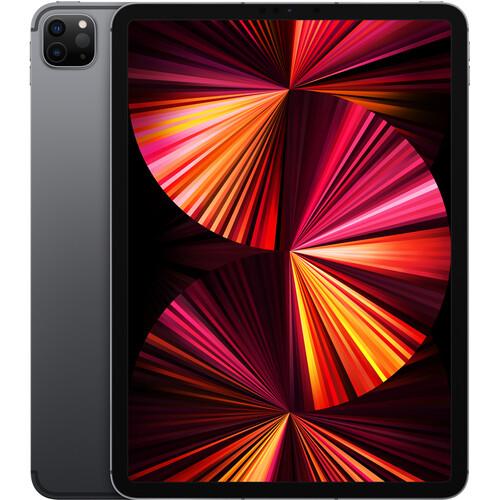 "Apple 11"" iPad Pro M1 Chip (Mid 2021, 2TB, Wi-Fi + 5G LTE, Space Gray)"