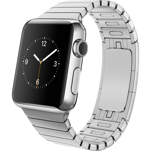Apple Watch 38mm Smartwatch (2015, Stainless Steel Case, Link Band)