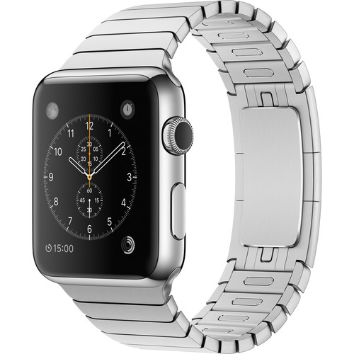 Apple Watch 42mm Smartwatch (2015, Stainless Steel Case, Link Band)
