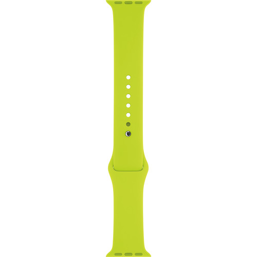 Apple Watch Sport Band (38mm, Green, Stainless Steel Pin, Small/Medium/Large)