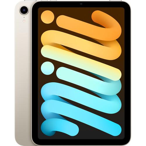 """Apple 8.3"""" iPad mini (6th Gen, 256GB, Wi-Fi Only, Starlight)"""