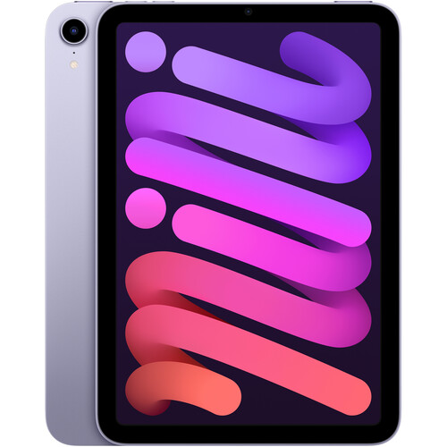 """Apple 8.3"""" iPad mini (6th Gen, 256GB, Wi-Fi Only, Purple)"""