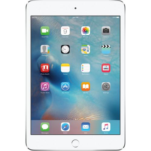 Apple 64GB iPad mini 4 (Wi-Fi + 4G LTE, Silver)