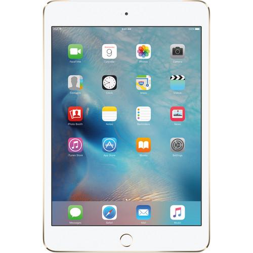 Apple 128GB iPad mini 4 (Wi-Fi + 4G LTE, Gold)