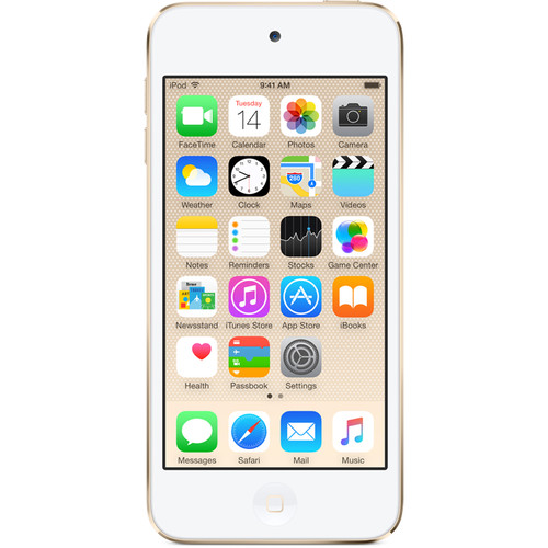 Apple 64GB iPod touch (6th Generation, Gold)