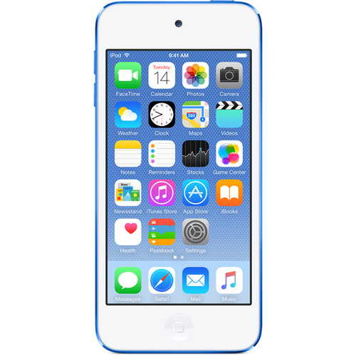 Apple 32GB iPod touch (6th Generation, Blue)
