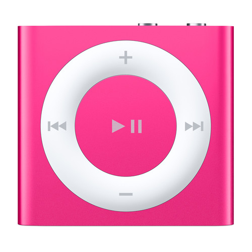 Apple 2GB iPod shuffle (Pink, 4th Generation, 2015 Model)