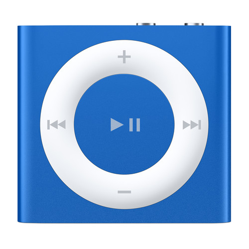 Apple 2GB iPod shuffle (Blue, 4th Generation, 2015 Model)
