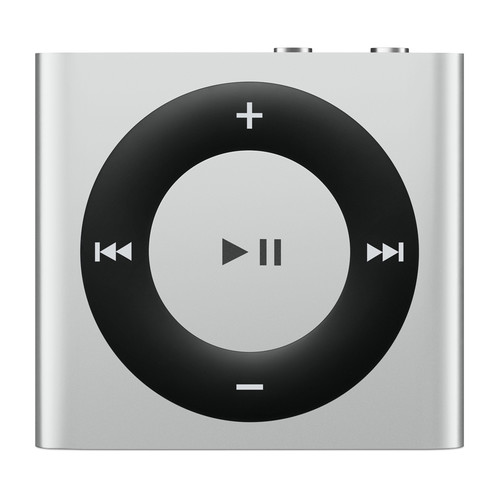 Apple 2GB iPod shuffle (Silver, 4th Generation, 2015 Model)
