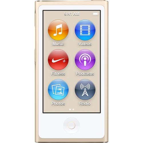 Apple 16GB iPod nano (Gold, 7th Generation, 2015 Model)