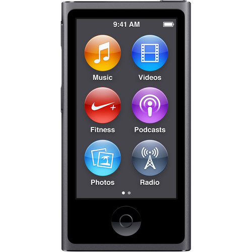 Apple 16GB iPod nano (Space Gray, 7th Generation, 2015 Model)