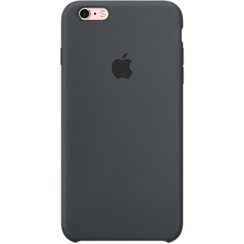 Apple iPhone 6 Plus/6s Plus Silicone Case (Charcoal Gray)