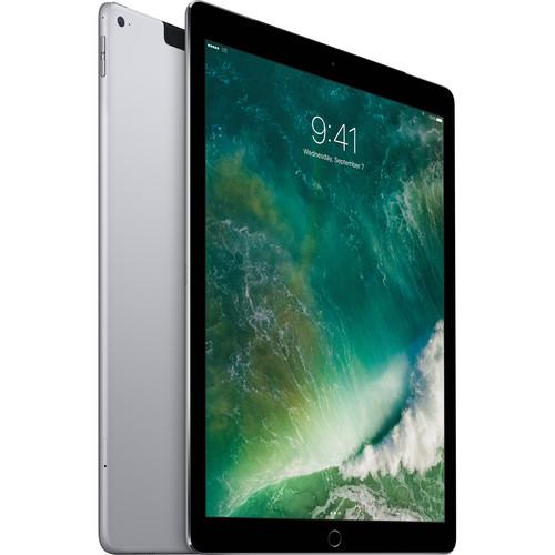 "Apple 12.9"" iPad Pro (256GB, Wi-Fi + 4G LTE, Space Gray)"