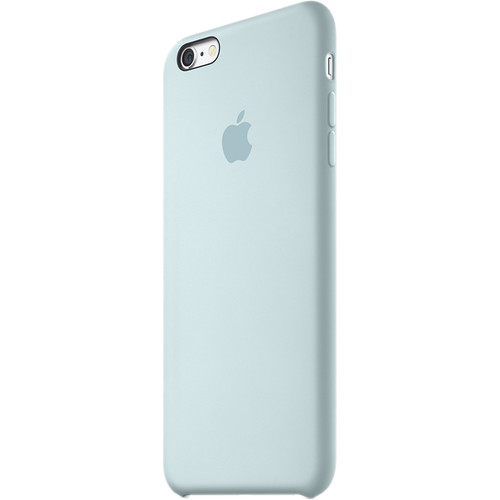 Apple Iphone S Plus Silicone Case Turquoise