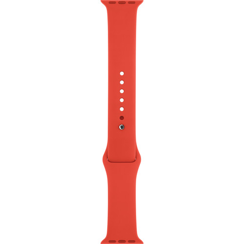 Apple Watch Sport Band (38mm, Orange, Stainless Steel Pin)