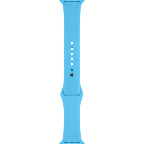 Apple Watch Sport Band (42mm, Blue, Stainless Steel Pin, Small/Medium/Large)