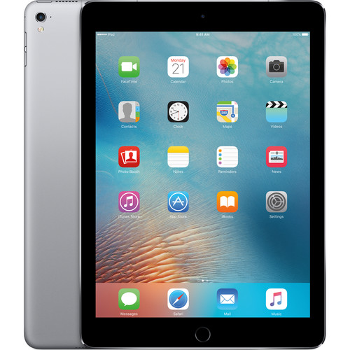 "Apple 9.7"" iPad Pro (32GB, Wi-Fi + 4G LTE, Space Gray)"