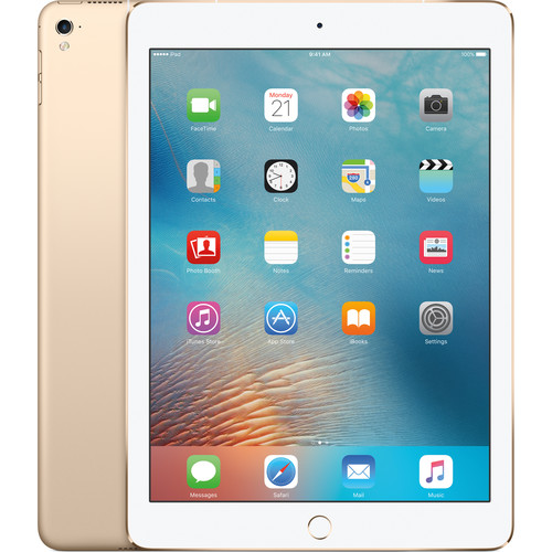 "Apple 9.7"" iPad Pro (128GB, Wi-Fi + 4G LTE, Gold)"