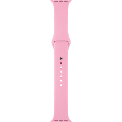 Apple Watch Sport Band (38mm, Light Pink, Stainless Steel Pin, Small/Medium/Large)