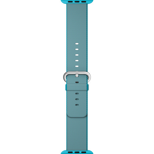Apple Watch Woven Nylon Band (38mm, Scuba Blue)