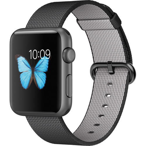 Apple Watch Sport 42mm Smartwatch MMFR2LL/A B&H Photo Video
