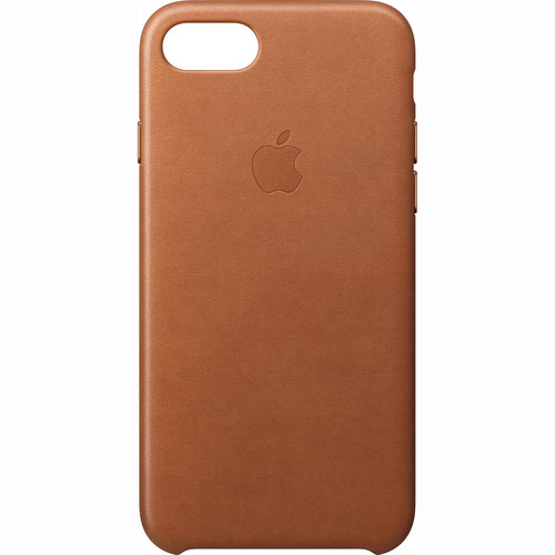 Apple iPhone 7 Leather Case (Saddle Brown)