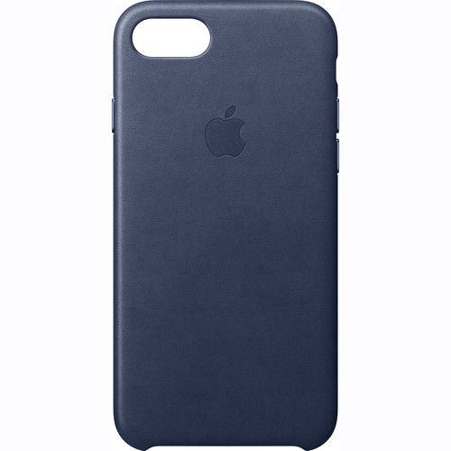 Apple iPhone 7 Leather Case (Midnight Blue)