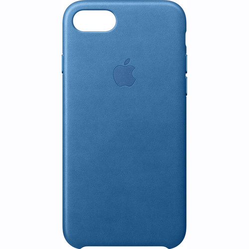 Apple iPhone 7 Leather Case (Sea Blue)