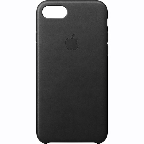 Apple iPhone 7 Leather Case (Black)