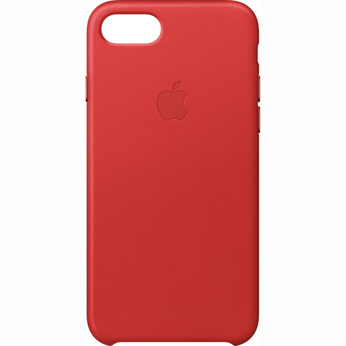Apple iPhone 7 Leather Case ((PRODUCT)RED)