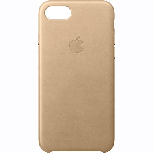 Apple iPhone 7 Leather Case (Tan)