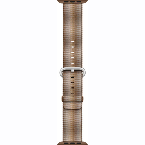 Apple Watch Woven Nylon Band (42mm, Toasted Coffee/Caramel)
