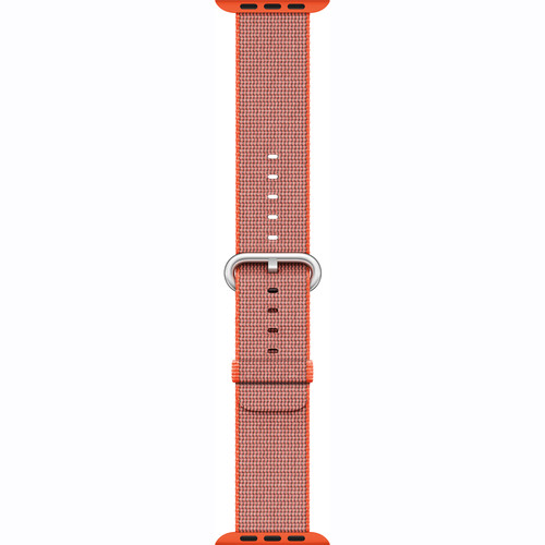 Apple Watch Woven Nylon Band (42mm, Space Orange/Anthracite)