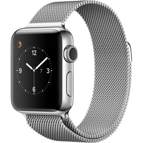 Apple Watch Series 2 38mm Smartwatch ( Stainless Steel Case, Milanese Loop Band)